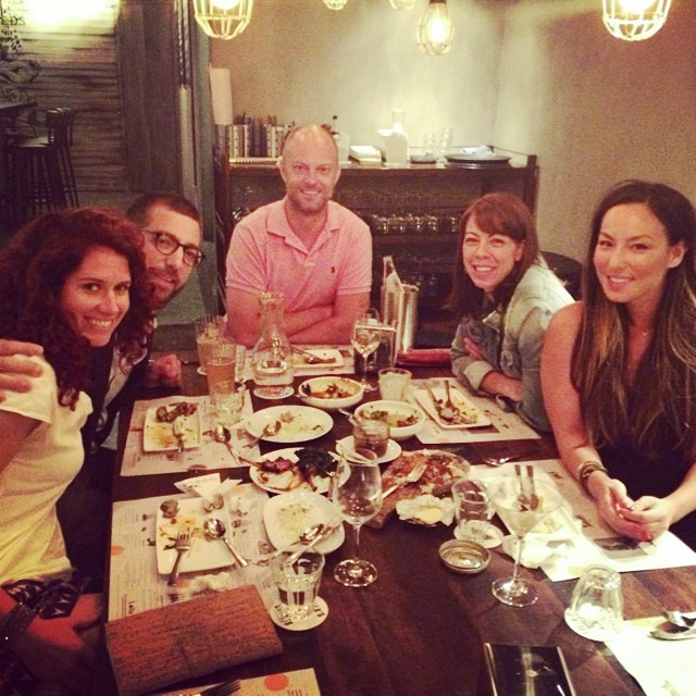 Fantastic dinner at Lolla last night with the locals ☺️🍤🍸🍴  #singapore #nomnom #lolla (at Lolla)