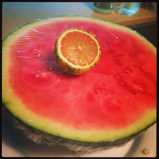 Watermelon Melon… And Watermelon Lemon… 🍉🍋  #fruitidentityprobs