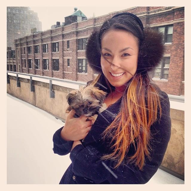 Brrrr #blizzard #lilbibi