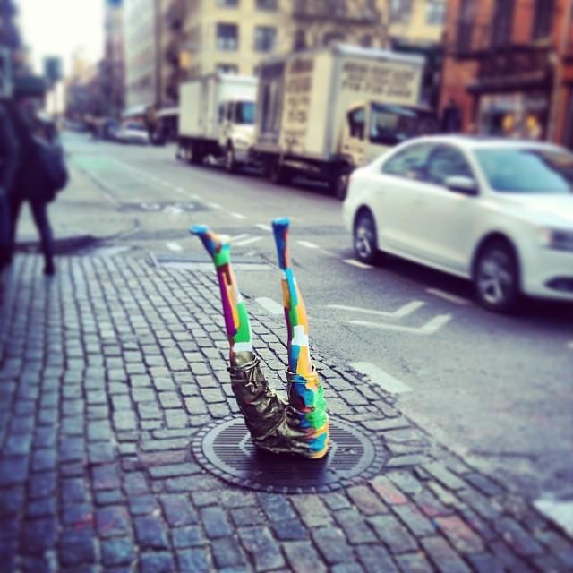 #nyc #streetart #soho #nicestems (at SoHo)
