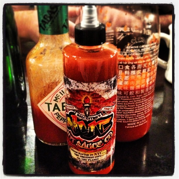 New fav hot sauce to add to the list. NYC Hot Sauce Co. #yum #breakingnews #spicy  #somelikeithot #nychotsauce