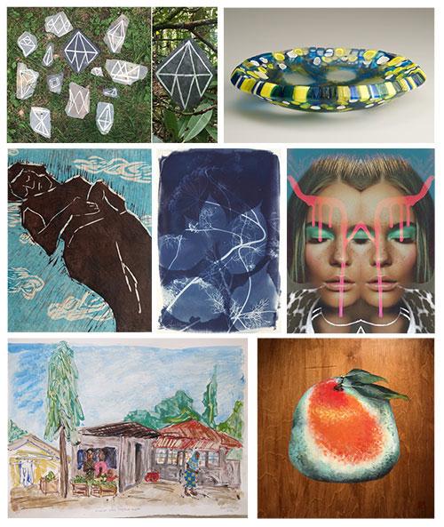CSArt Share - Artists Include: Jessica CaponigroEmily Cobb, Xian Ho, Peter McCarthySusan Murie, Leah Pillsbury & Cory Munro Shea