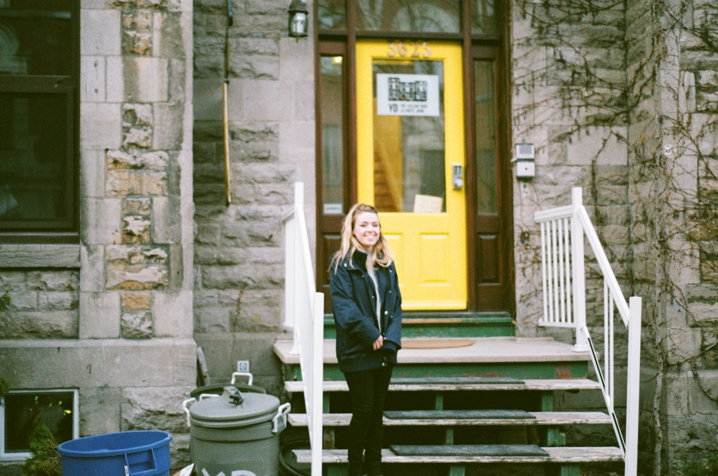 The Yellow Door/La Porte Jaune, Montreal, QC