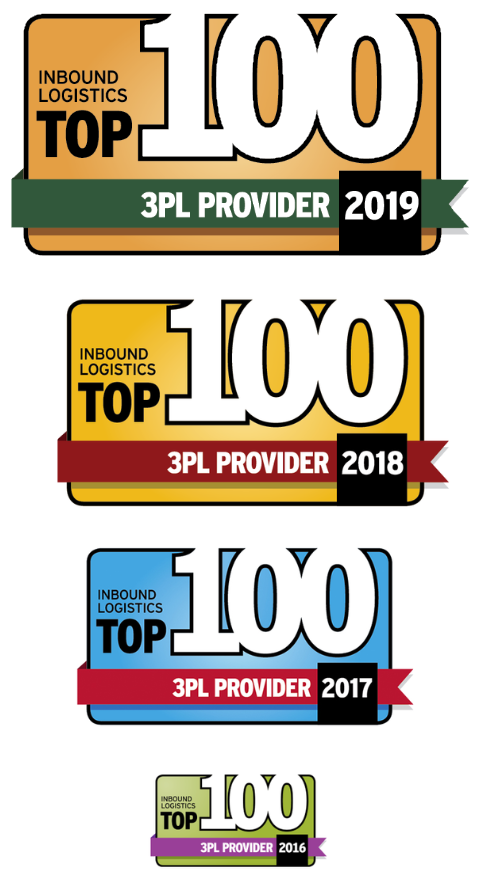 Holman Distribution included in Top 100 3PL list for 2016, 2017, 2018, and 2019!