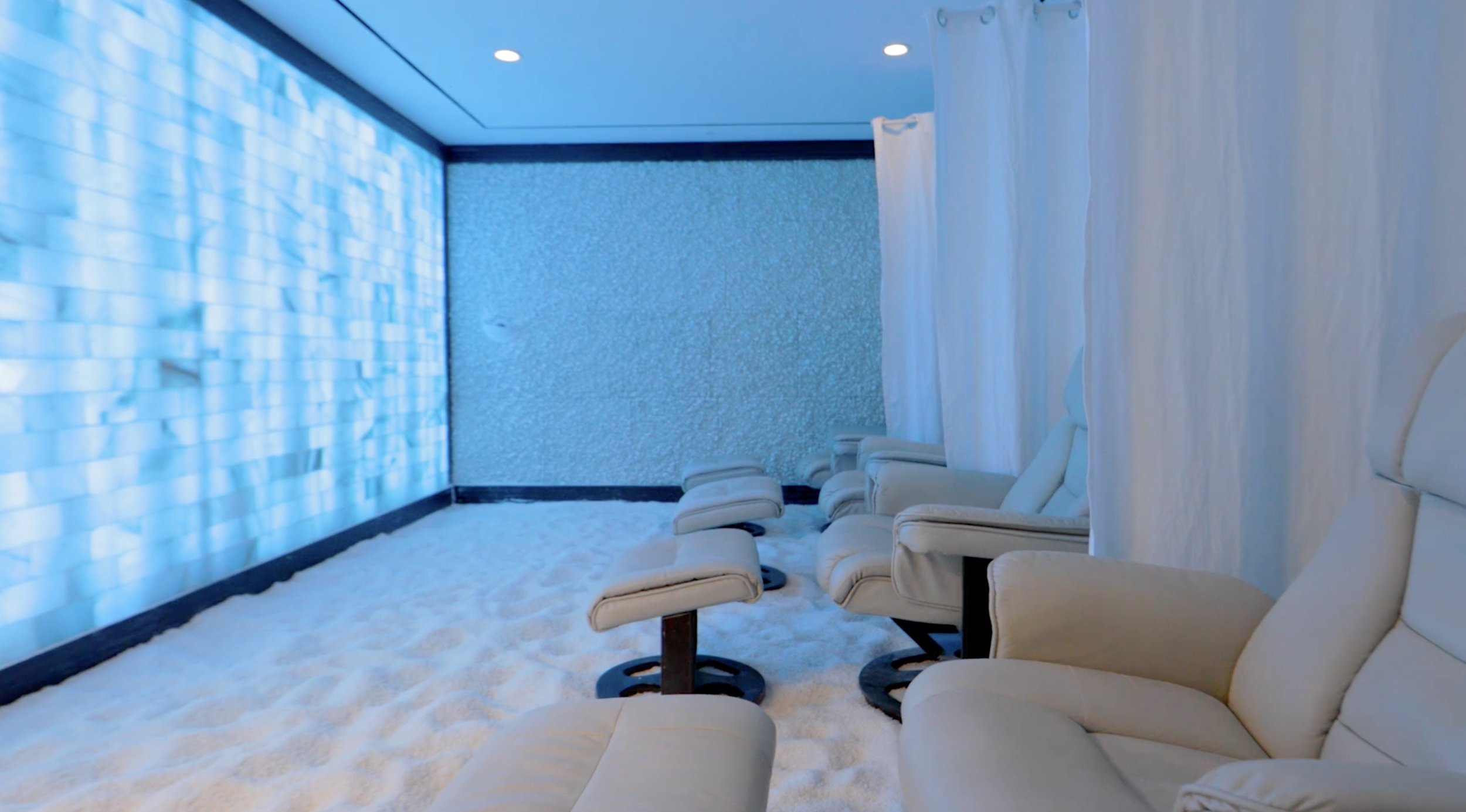 Salt rooms - We offer one group room and two private rooms at our Vero Beach location!