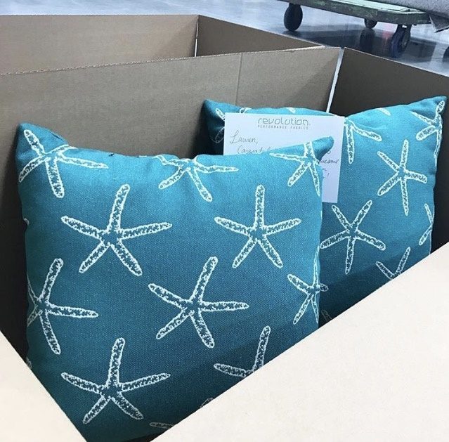 *Two Revolution pillows being sent to an Instagram give away winner!