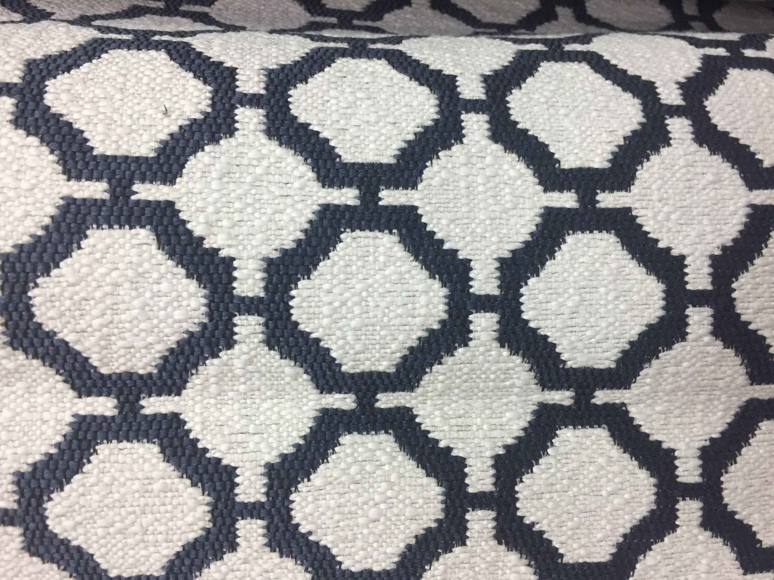 Above: The final product! A Revolution jacquard