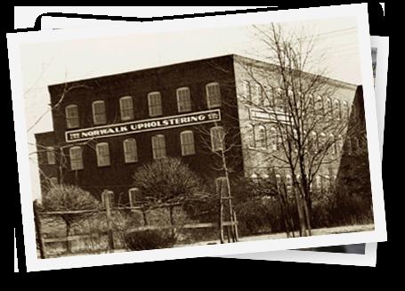 The Norwalk Upholstering building in 1936.