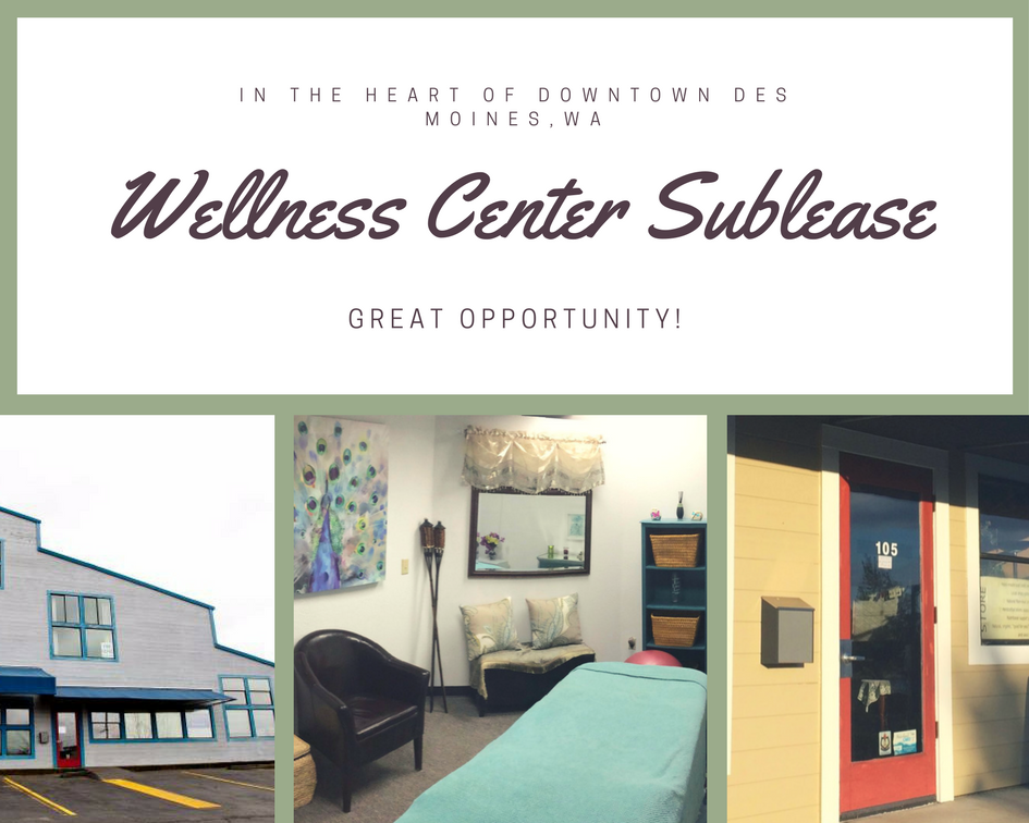 Wellness Center Sublease Available