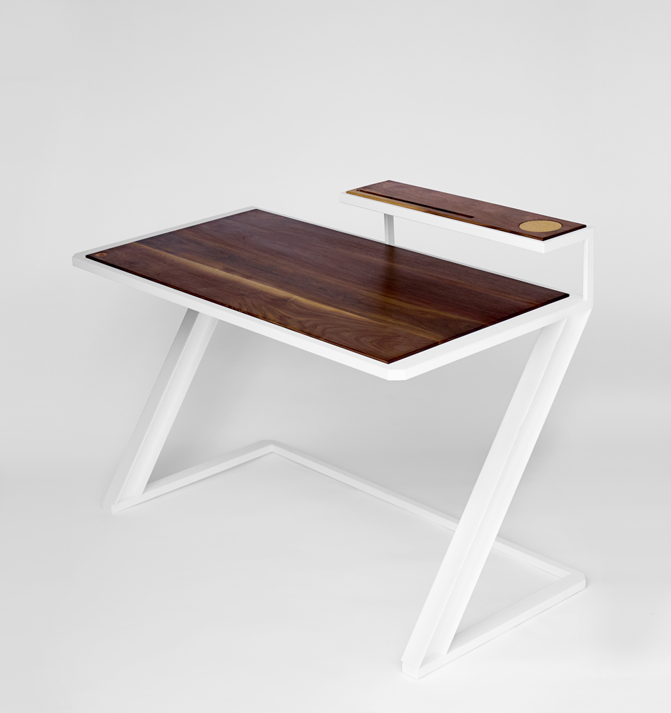 MiterZ Writing Desk  Home or Office Bliss   Download Tear Sheet