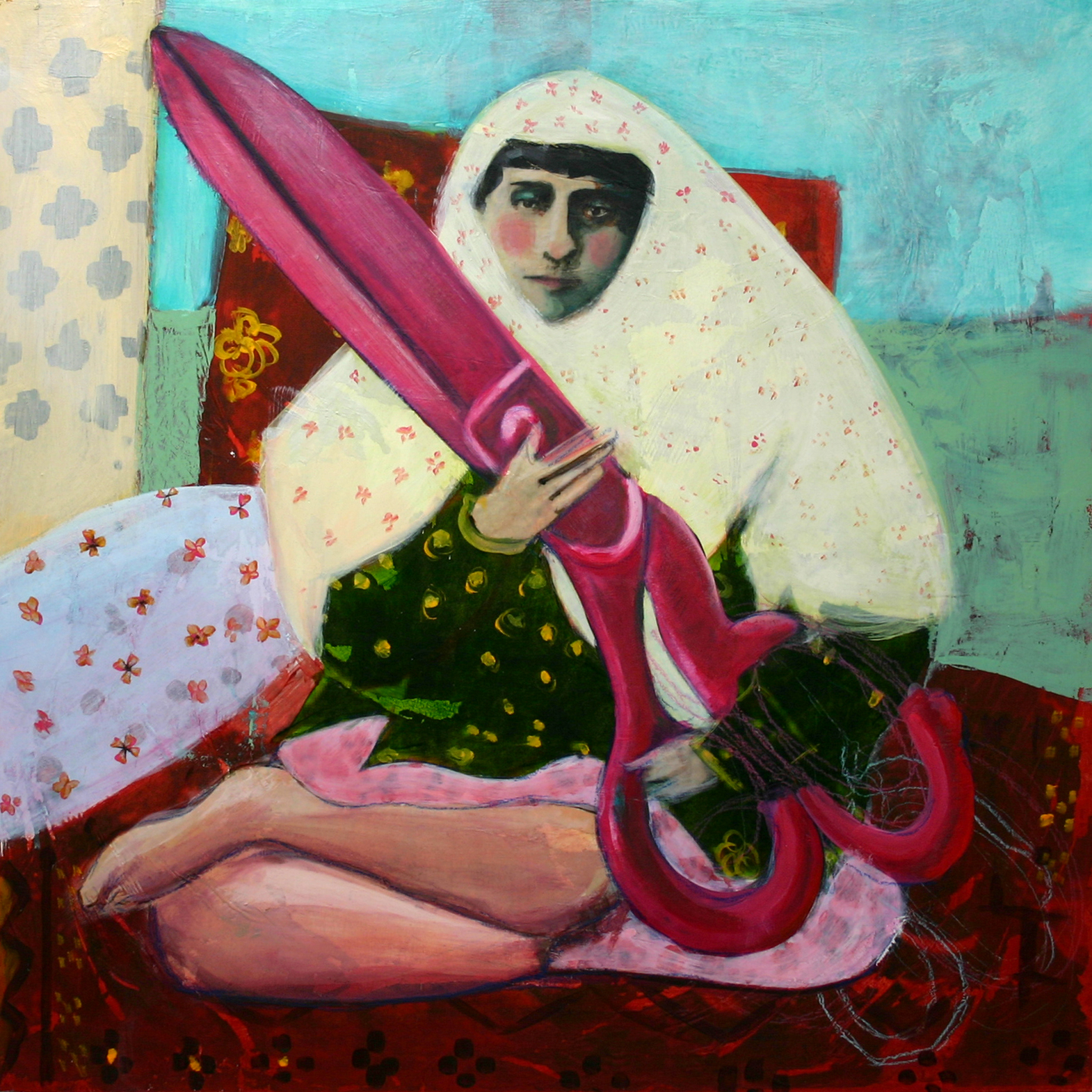 08lady with pink scissors.jpg
