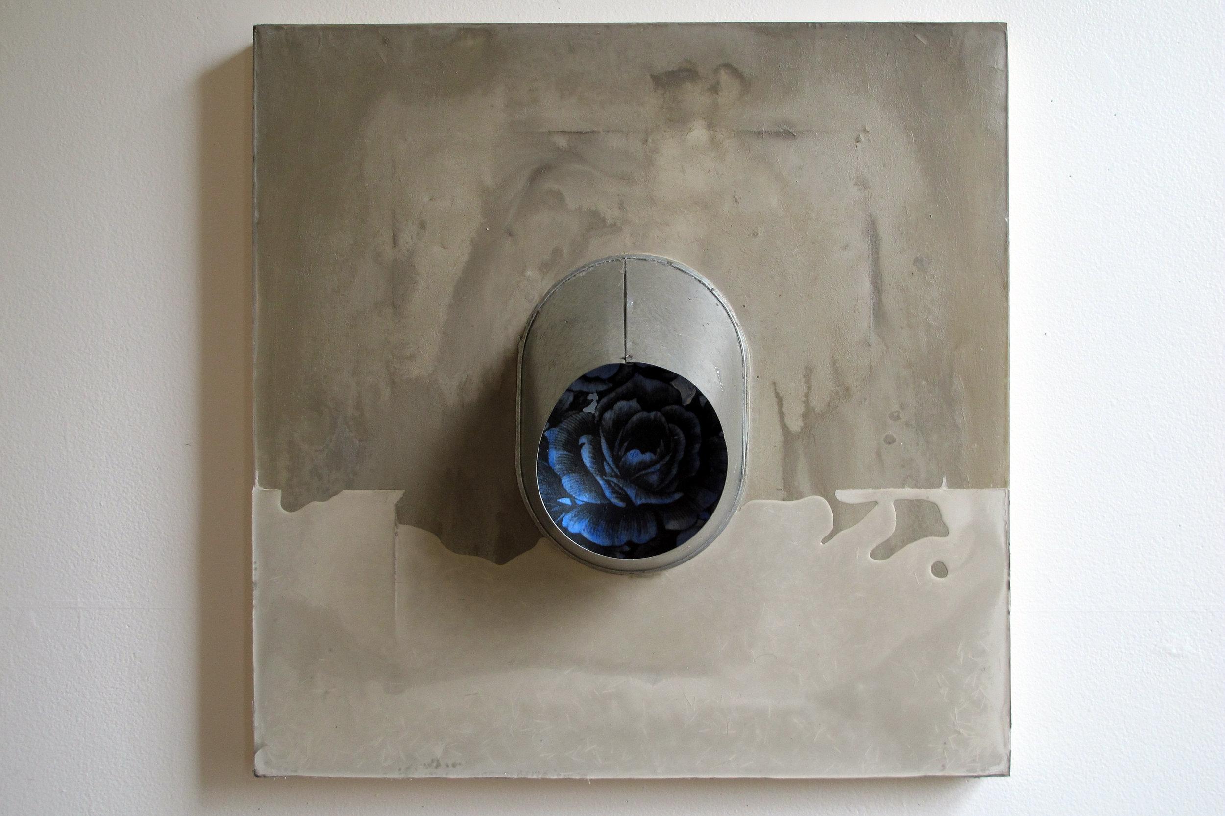 peephole china blue