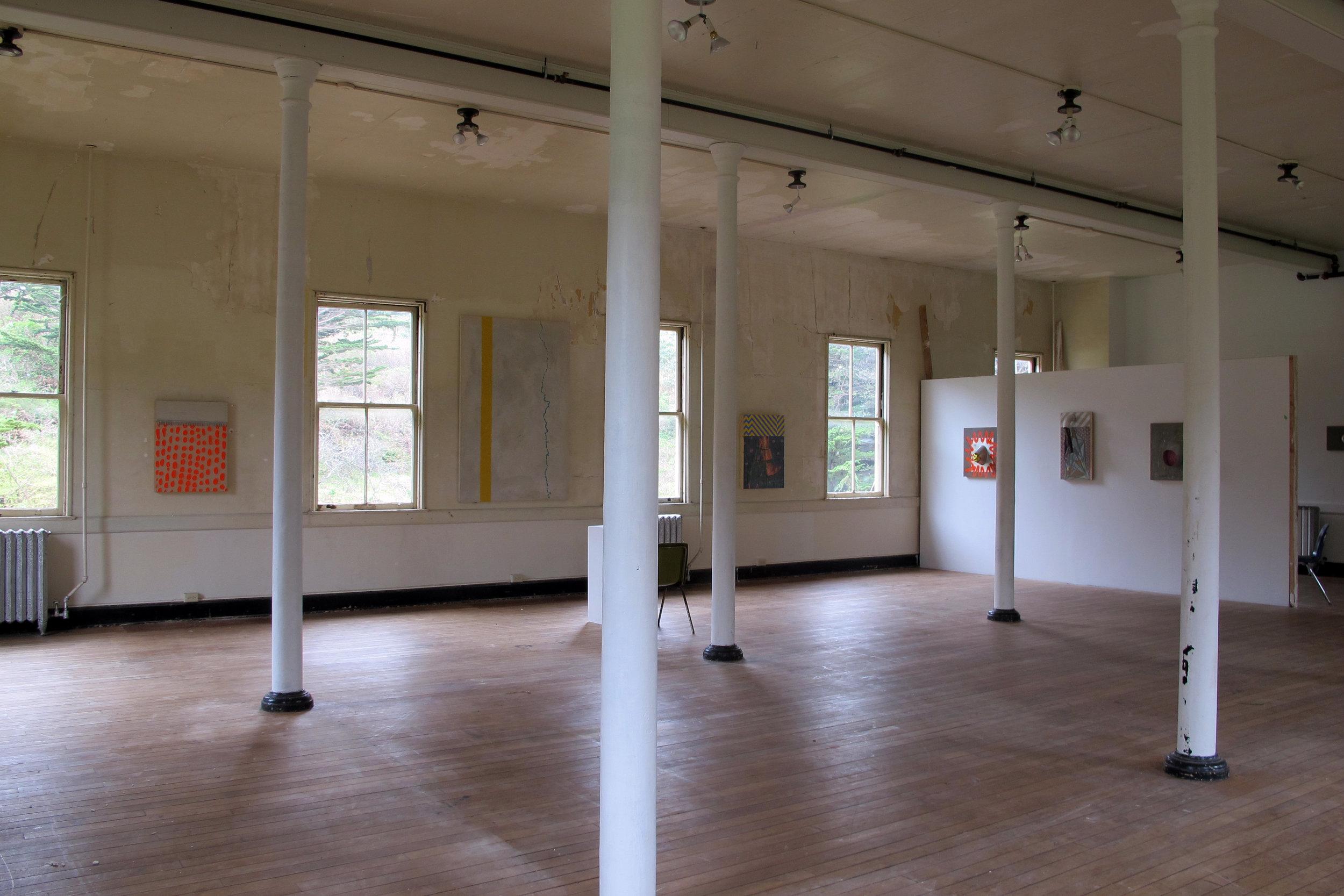 instalation @ Headlands center for the Arts