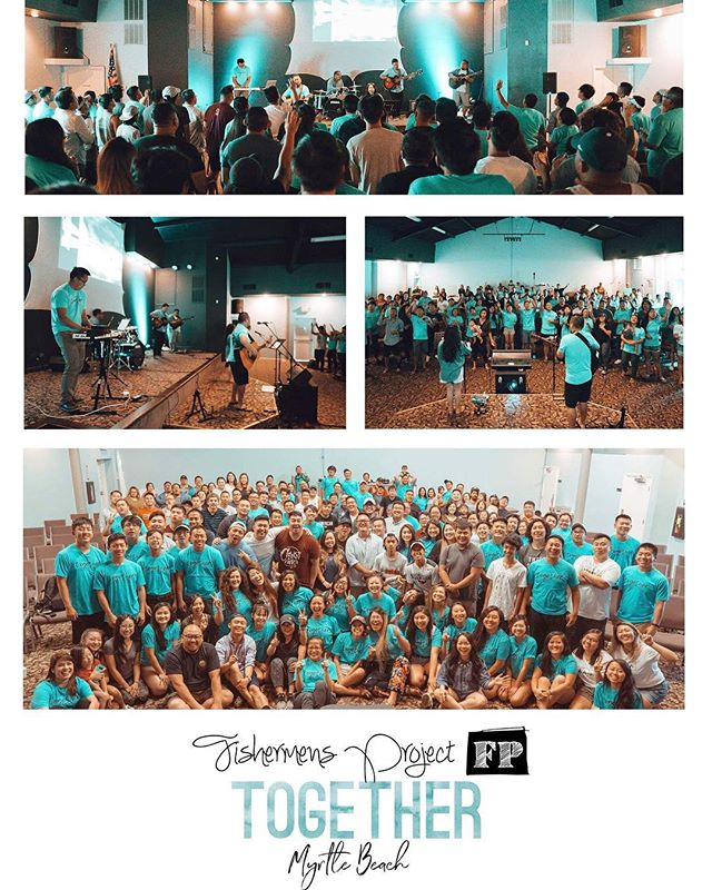We had such a wonderful time in Myrtle Beach this past week! From leading worship to escaping a hurricane, it was an experience to remember! It was a great joy to worship and share life with all of you at the #TogetherConference!  As always, thanks for the love and southern hospitality!  #MyrtleBeach  #FishermensProject  #XaaMooZoo