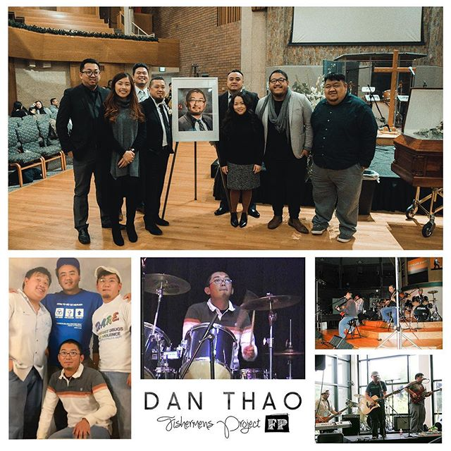 This weekend we remember Dan Thao, one of the founding members of Fishermen's Project.  In 2003, the band started with Dan on the drums and then transitioning to bass guitar.  Though the band has been through some changes, Dan's talent and legacy lives on as we continue to strive towards Christ.  He has won the race and we will worship together again when we are face to face with our Lord.  For now, we will keep on fishing... Praise and Glory and Honor to our Lord Jesus for the friendship and kinship we have in Him.  #DanThao #FPLegacy #FishermensProject #Matt419 #ForHisKingdom