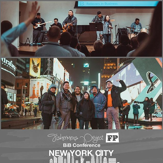 Thank you BiB conference for having us again this year! We had a great time traversing NYC, but an even greater time of worship and fellowship with you all!  Hope to see this beautiful place again soon!  #FishermensProject  #XaaMooZoo  #BiBConference  #NYC #Matt419