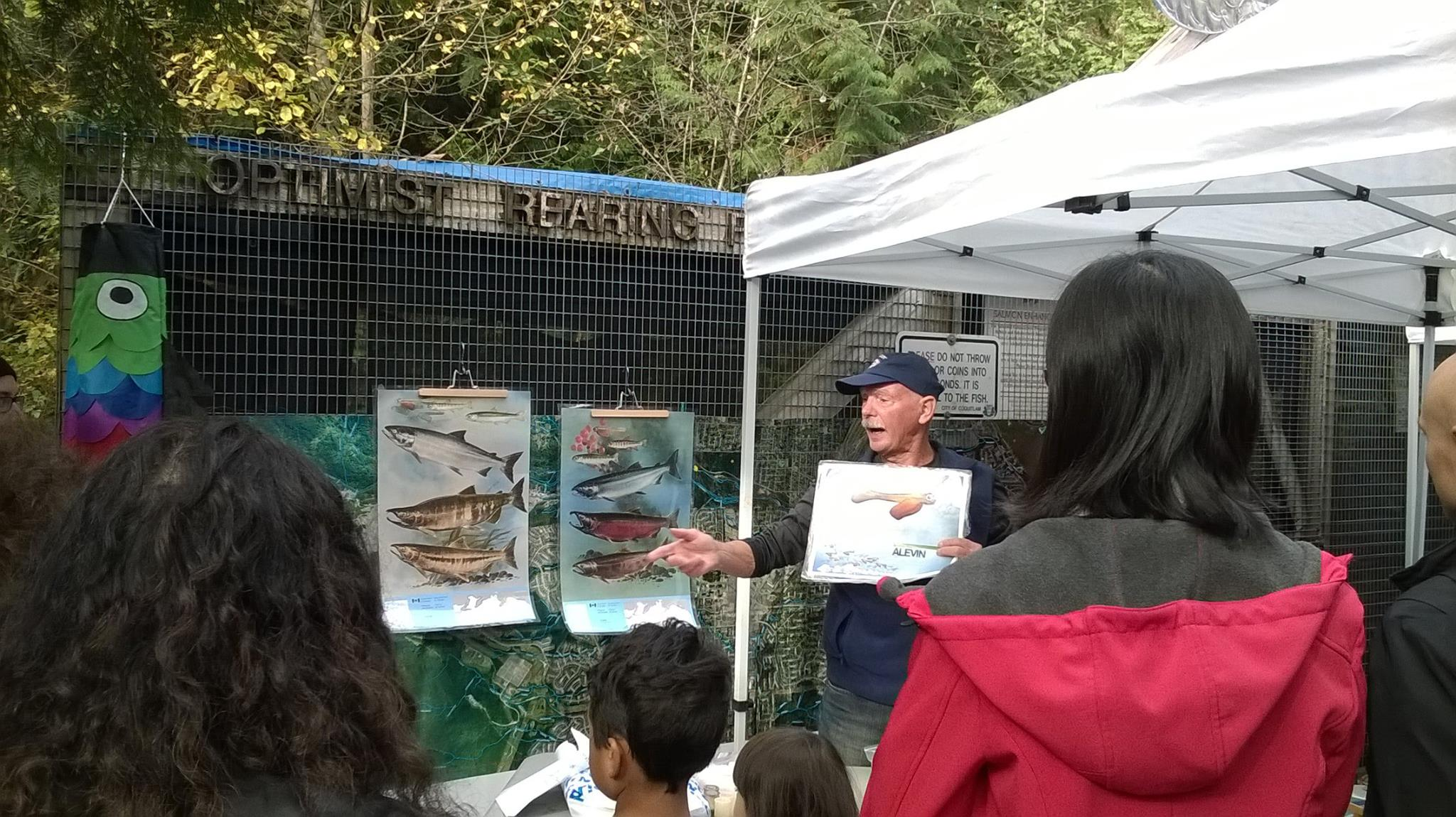 HSWS founding member and salmon educator, Chris Hamming