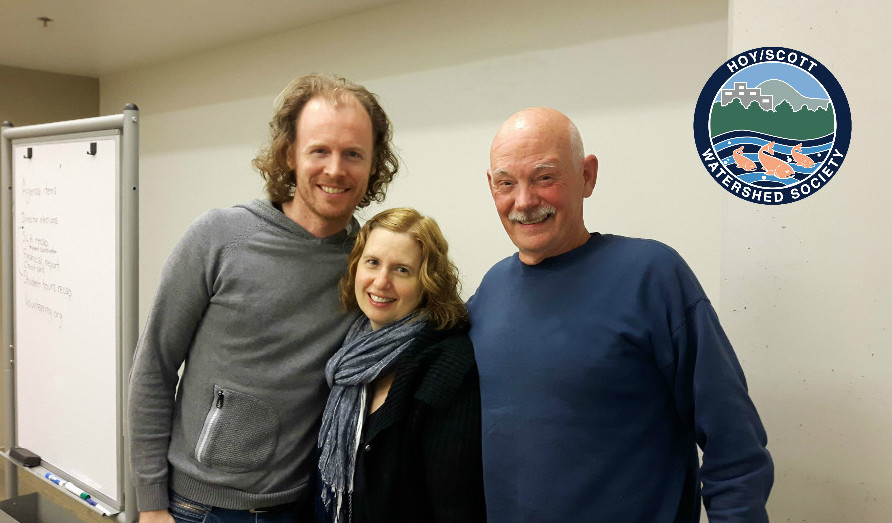 left to right is: Arno Hazebroek, Sandra Uno, and Chris Hamming
