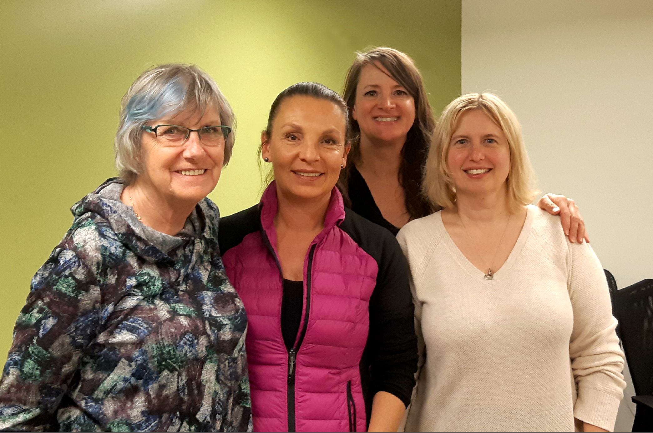 Voted in from left to right: Lilian Elliott, Director; Robbin Whachell, President; Lani Lehun, Director; and Sandra Uno, Director. The four join the existing executive already serving terms: Rodney Lee, Vice President & Hatchery Manager; Emily Rossi, Secretary; and Kyle Uno, Treasurer.