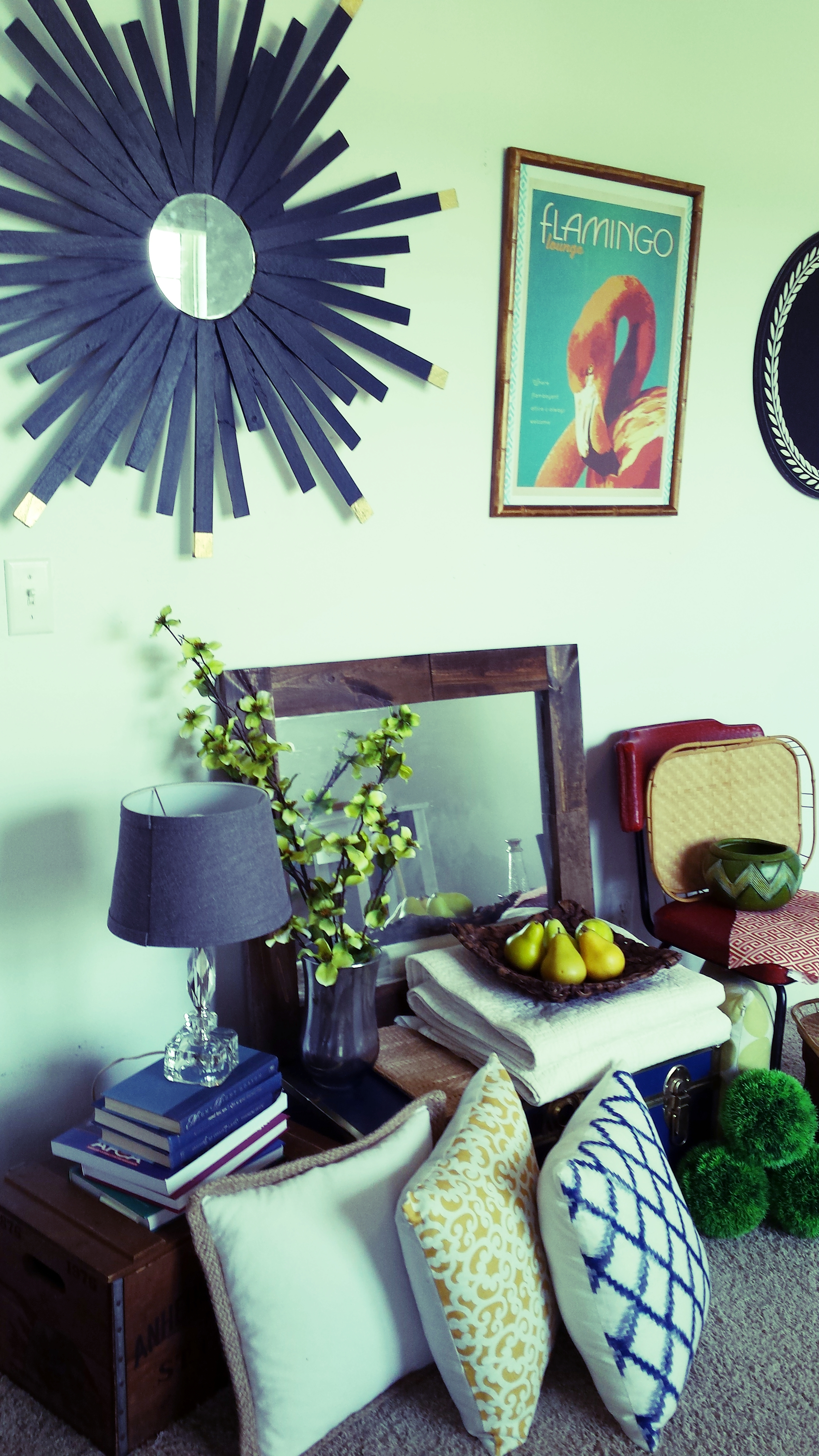 """MIx the old with the new, to create a """"collected"""" and eclectic living space"""