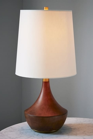 New lamp. West Elm. $199