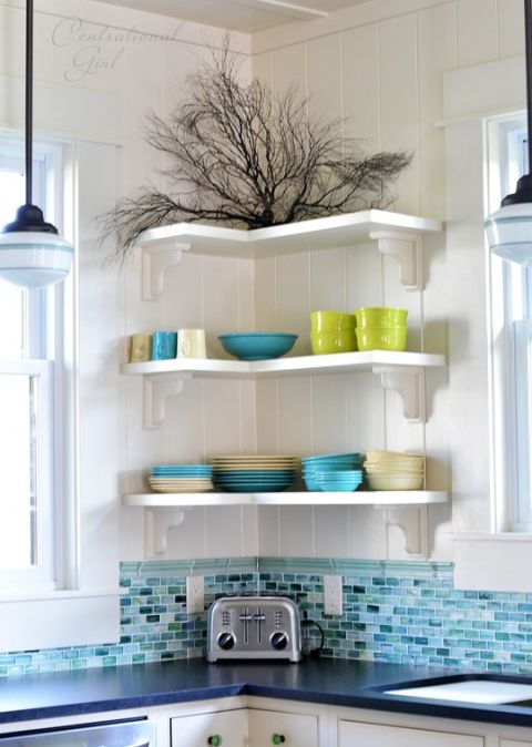 "photo from  Centsational Girl , article title: ""11 Kitchen storage spaces you completely forgot about"" , via Good Housekeeping"