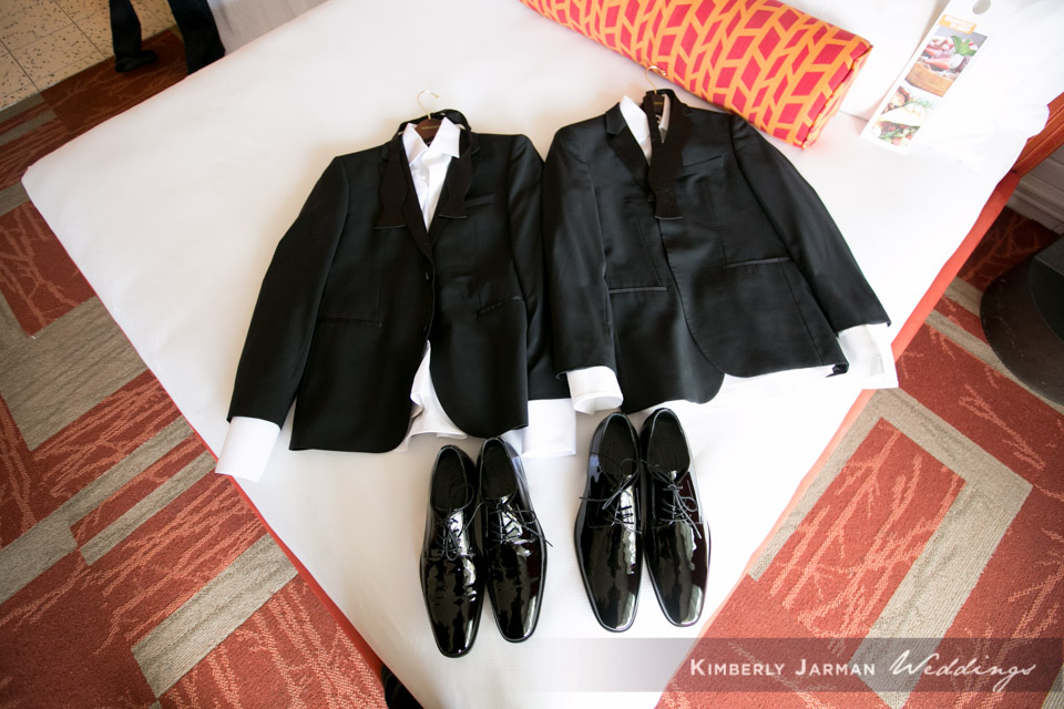 6 black grooms suite matching grooms suites two grooms wedding Kimberly Jarman Photography Life Design Events.jpg