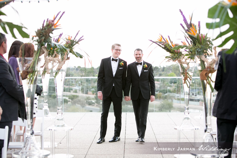 36 two grooms two grooms walking down the aisle two grooms wedding ceremony Kimberly Jarman Photography Life Design Events.jpg
