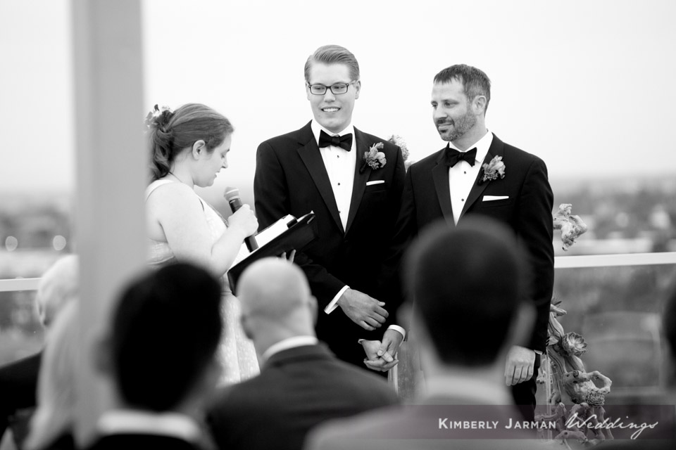 38  two grooms two grooms walking down the aisle two grooms wedding ceremony grooms exchanging vows Kimberly Jarman Photography Life Design Events.jpg