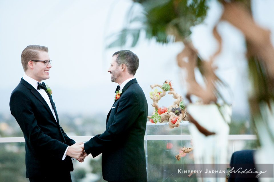 39  two grooms two grooms walking down the aisle two grooms wedding ceremony grooms exchanging vows Kimberly Jarman Photography Life Design Events.jpg