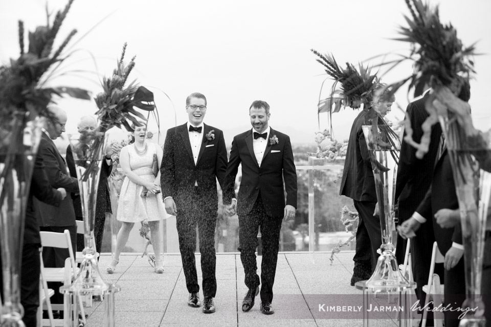 40  two grooms two grooms walking down the aisle two grooms wedding ceremony grooms exchanging vows Kimberly Jarman Photography Life Design Events.jpg