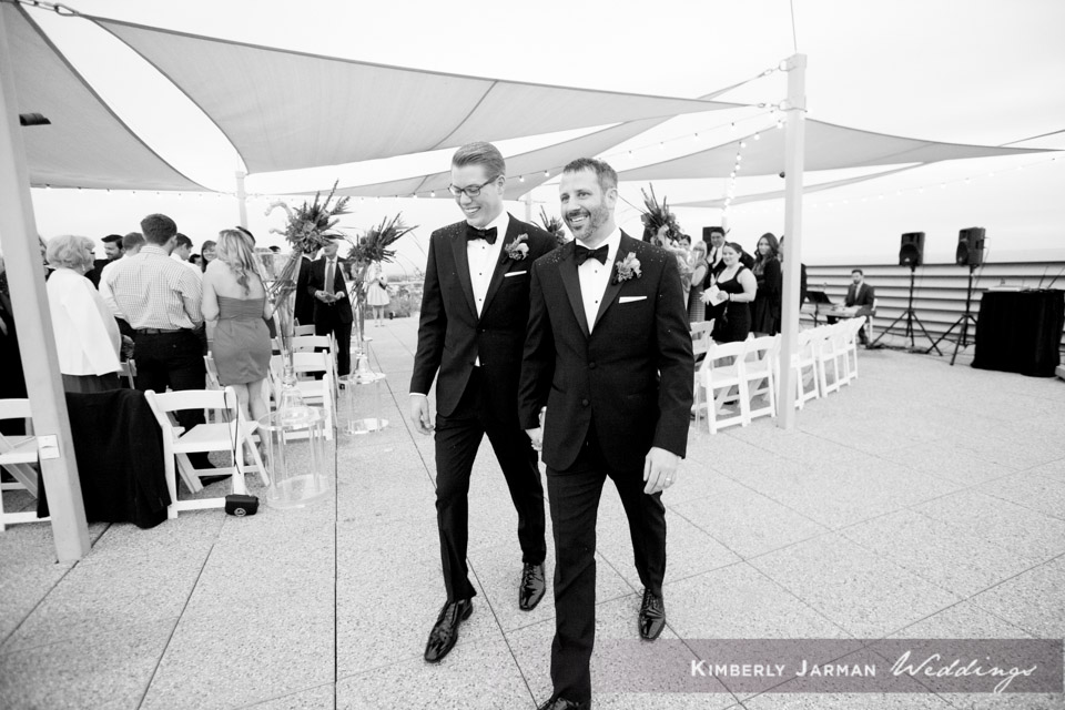 41  two grooms two grooms walking down the aisle two grooms wedding ceremony grooms exchanging vows Kimberly Jarman Photography Life Design Events.jpg