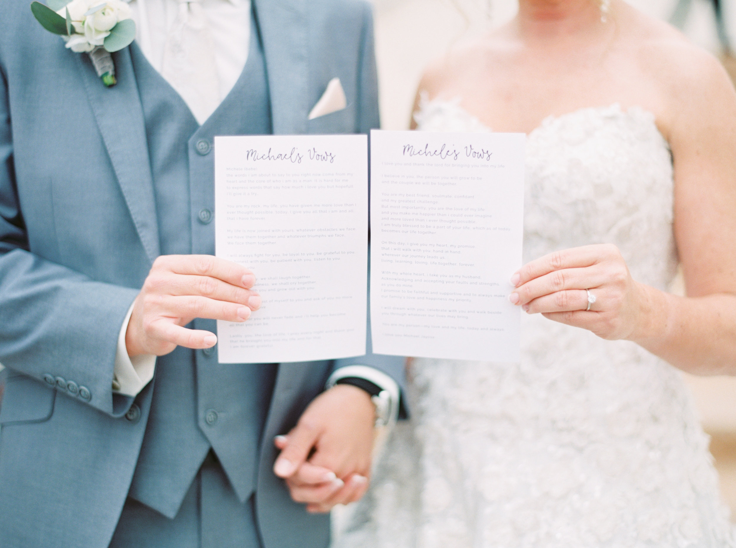 15 wedding vows share vows read vows say vows before ceremony custom paper for vows write your own vows Life Design Events photos by Melissa Jill Photography.jpg