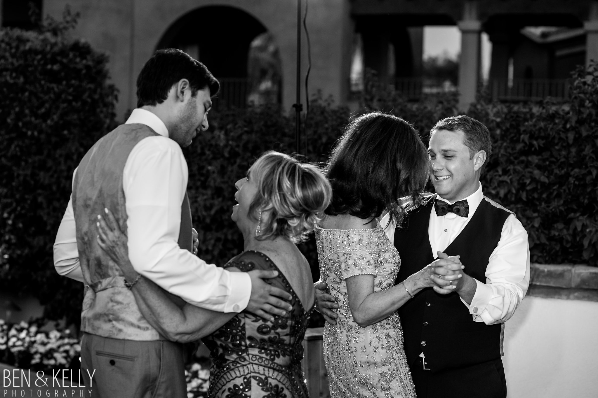 34 mother son dance two grooms dance with mom dance with husband mom spouses mom family wedding dance Life Design Events photo by Ben and Kelly Photography.jpg