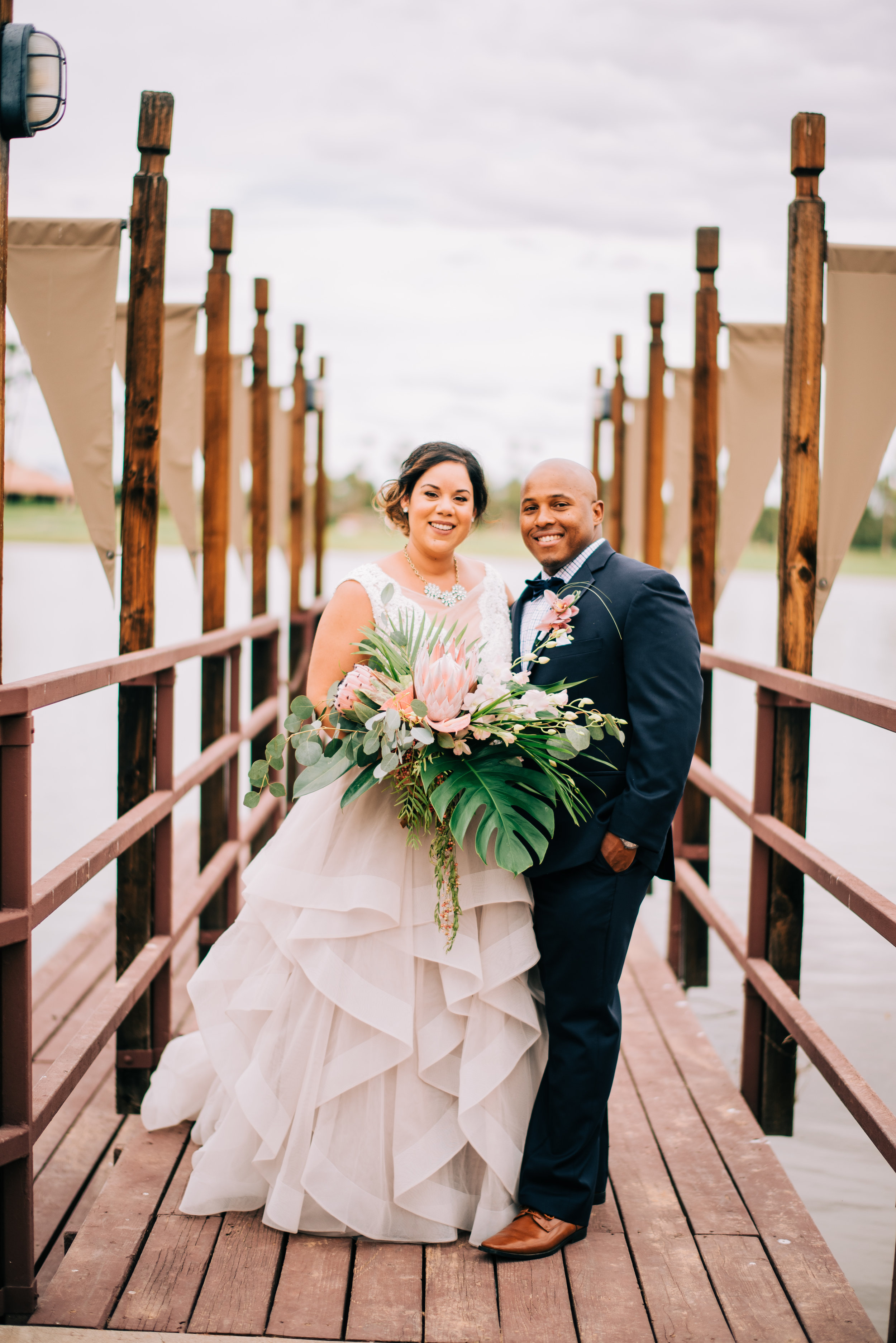 13 bride groom wedding portrait couple portrait lake wedding oasis in desert wedding colored wedding dress blush wedding dress Life Design Events photos by Josh Snyder Photography.jpg