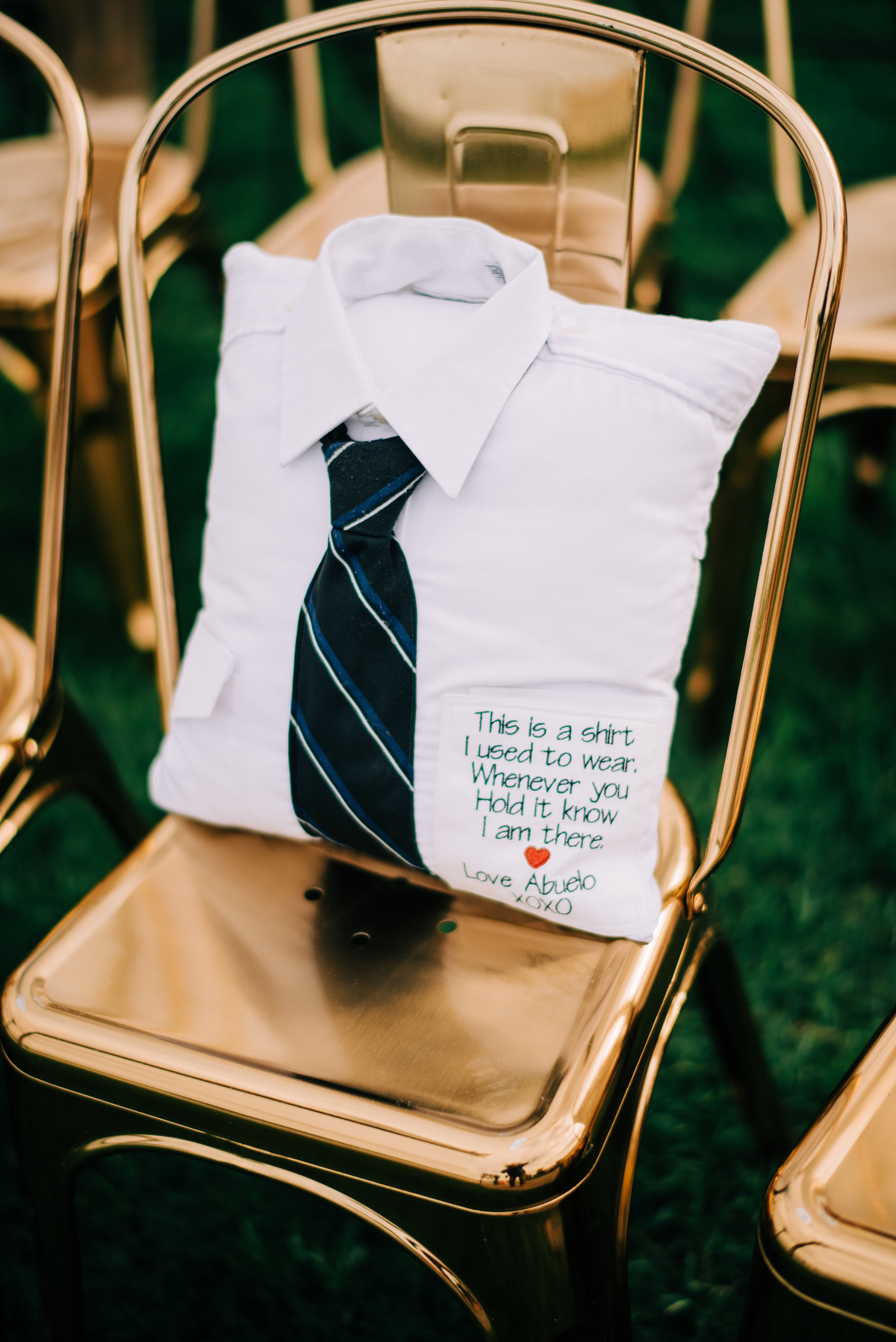 19 wedding remember loved ones honor family members that died bride honors dad wedding rememberance Life Design Events photos by Josh Snyder Photography.jpg