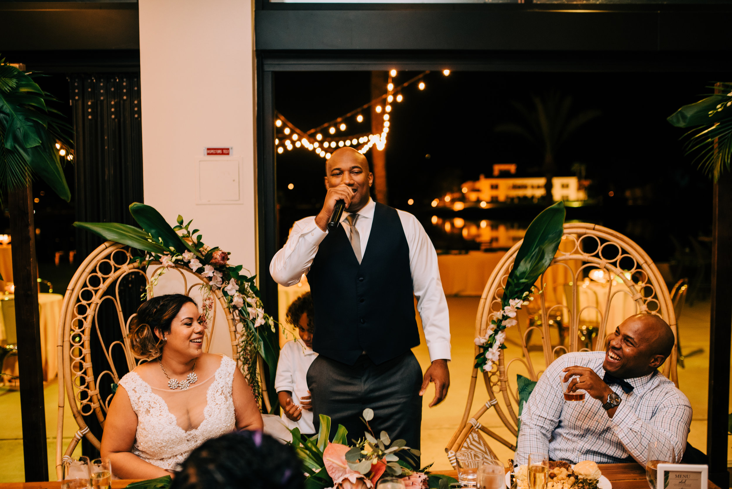 29 bride groom wedding reception best man toast laughs funny best man toast childhood best friend wedding toast Life Design Events photos by Josh Snyder Photography.jpg