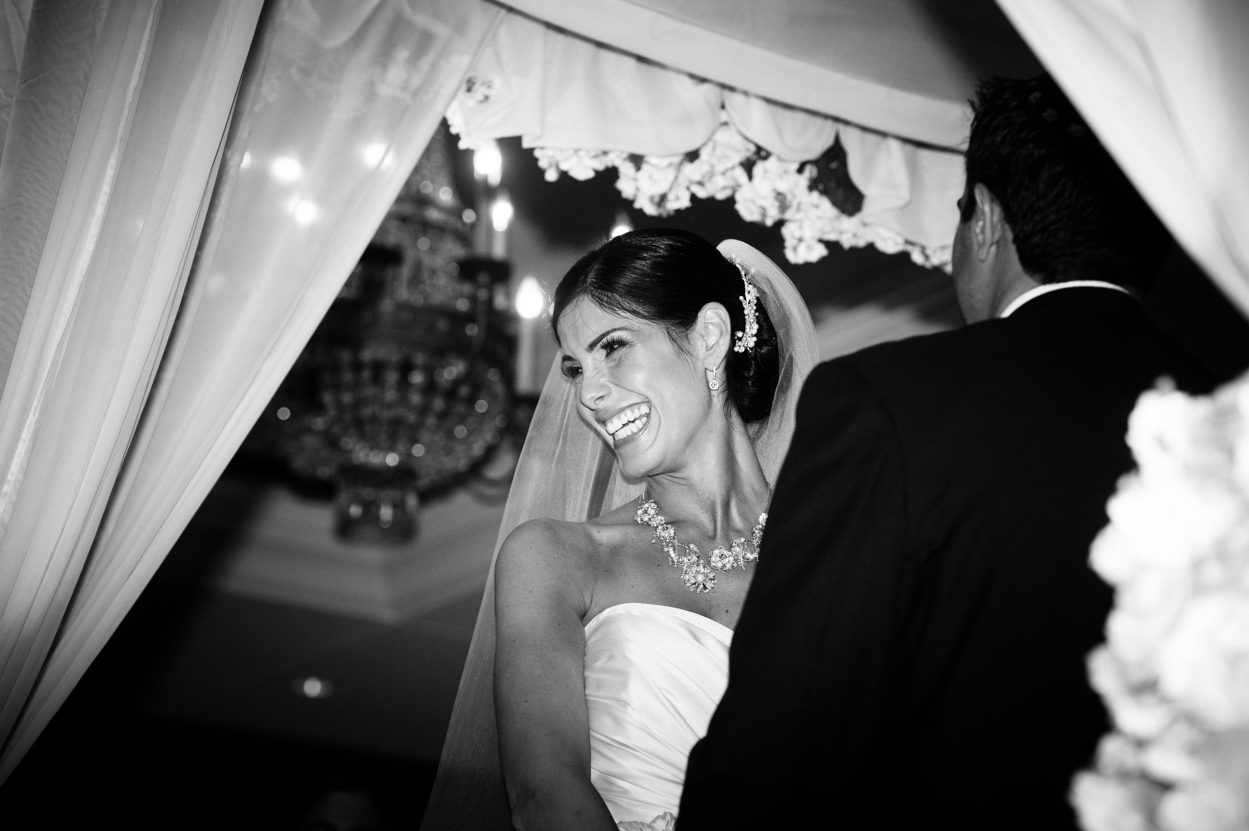 17 bride and groom at alter bride and groom exchanging vows Christine Johnson Photography Life Design Events.jpg
