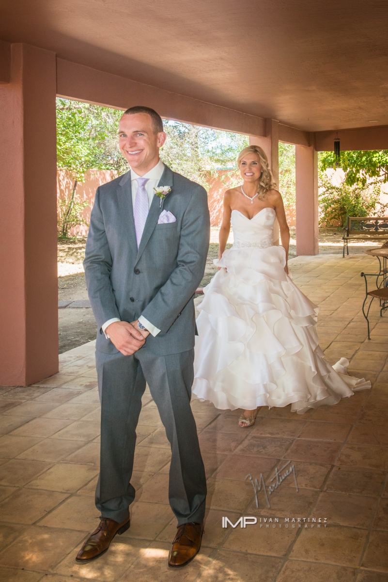 2 bride and groom first look romantic first look bride and groom photos  Ivan Martinez photography Life Design Events.JPG