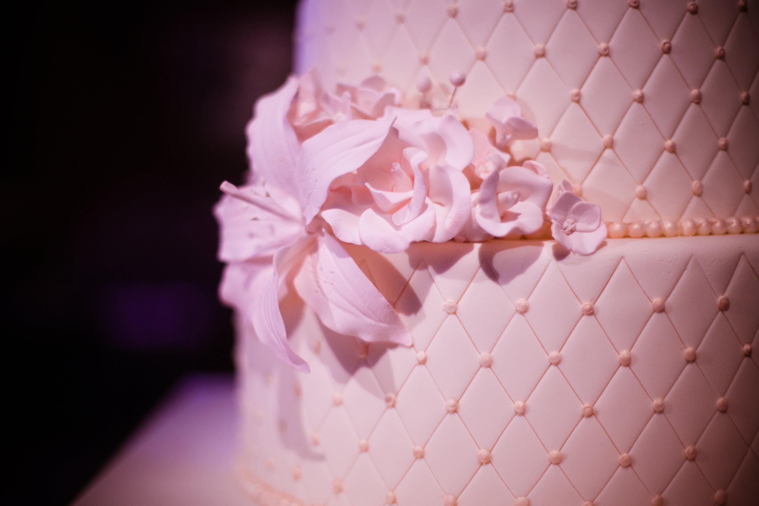 23 wedding cake closeup detailed wedding cake simple wedding cake all white wedding cake flowers on wedding cake Christine Johnson Photography Life Design Events.jpg