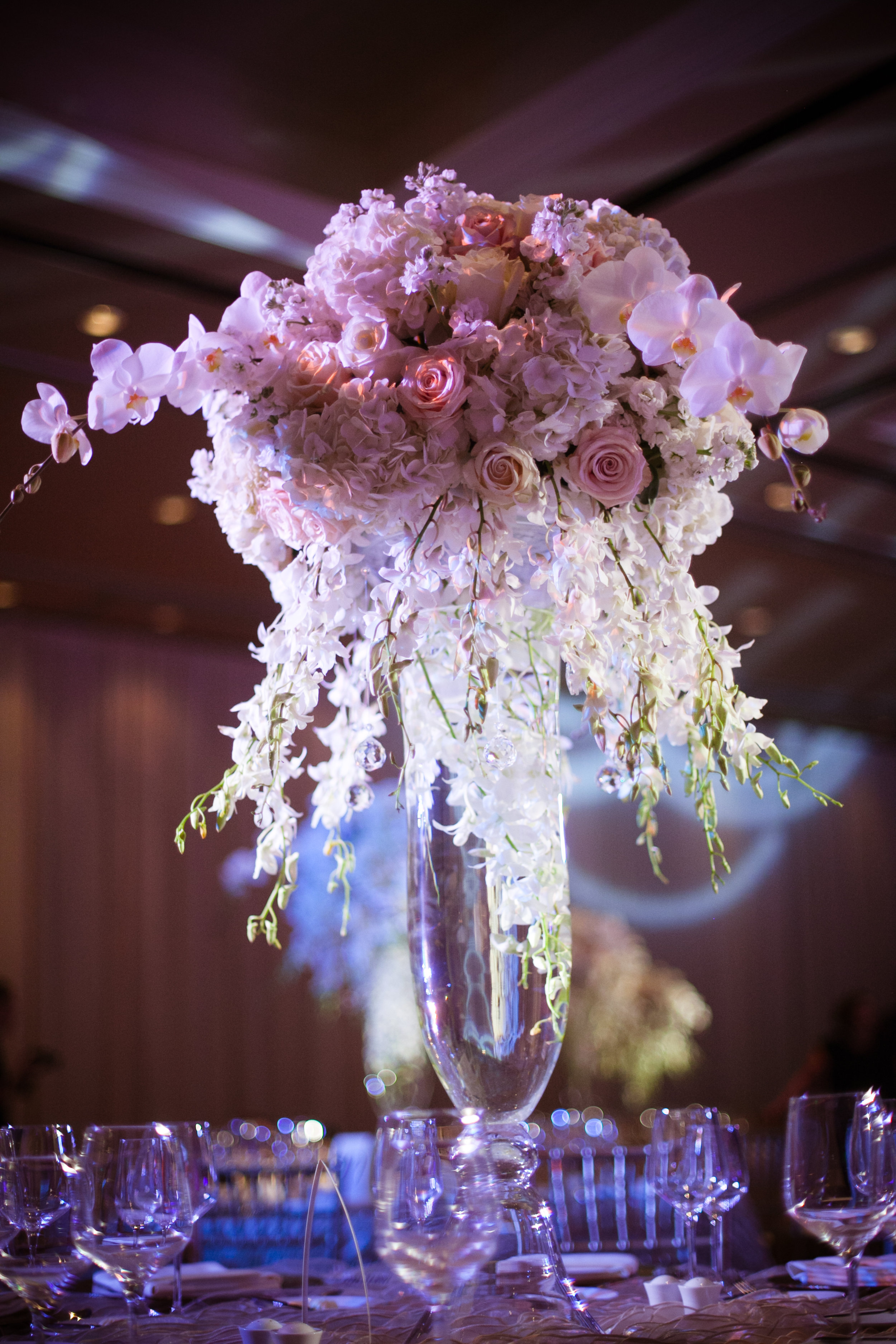 26  tall centerpieces purple and white centerpieces unique centerpieces elegant centerpieces fancy centerpieces Christine Johnson Photography Life Design Events .jpg