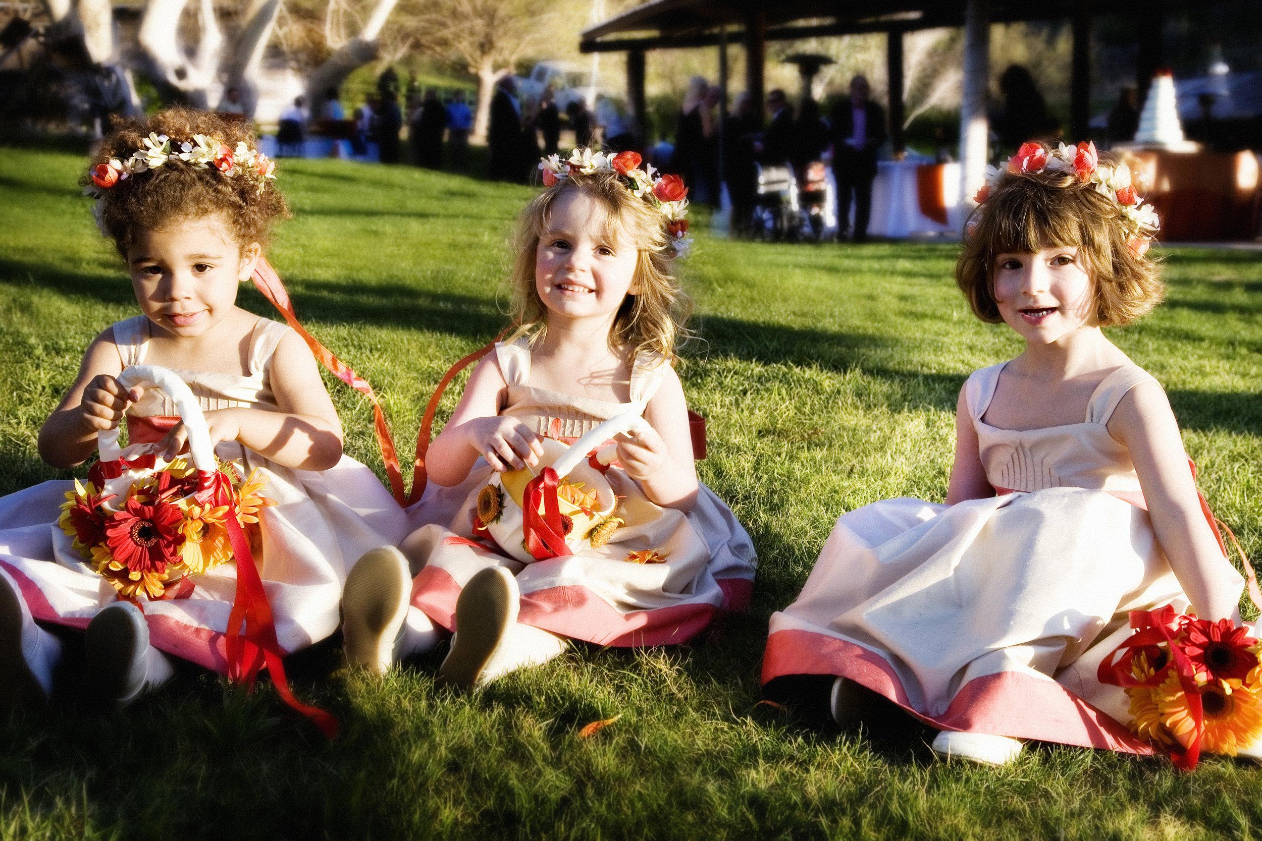 5 flower girls spring flower girl outfits flower crowns for flower girls spring wedding outdoor wedding Jane Jordan Photography Life Design Event.jpg