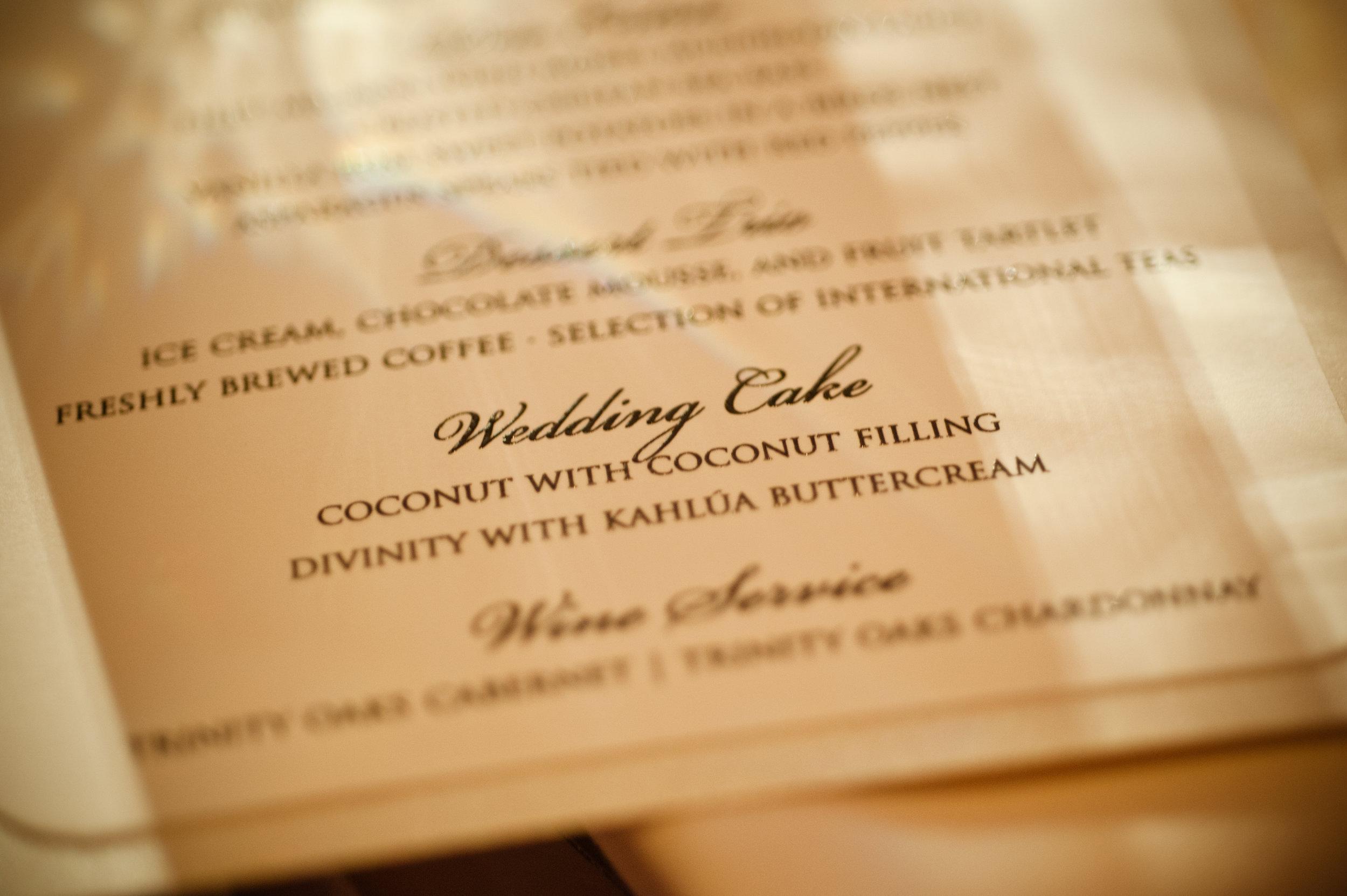 34  wedding menu simple wedding menu classic wedding menu Christine Johnson Photography Life Design Events.jpg