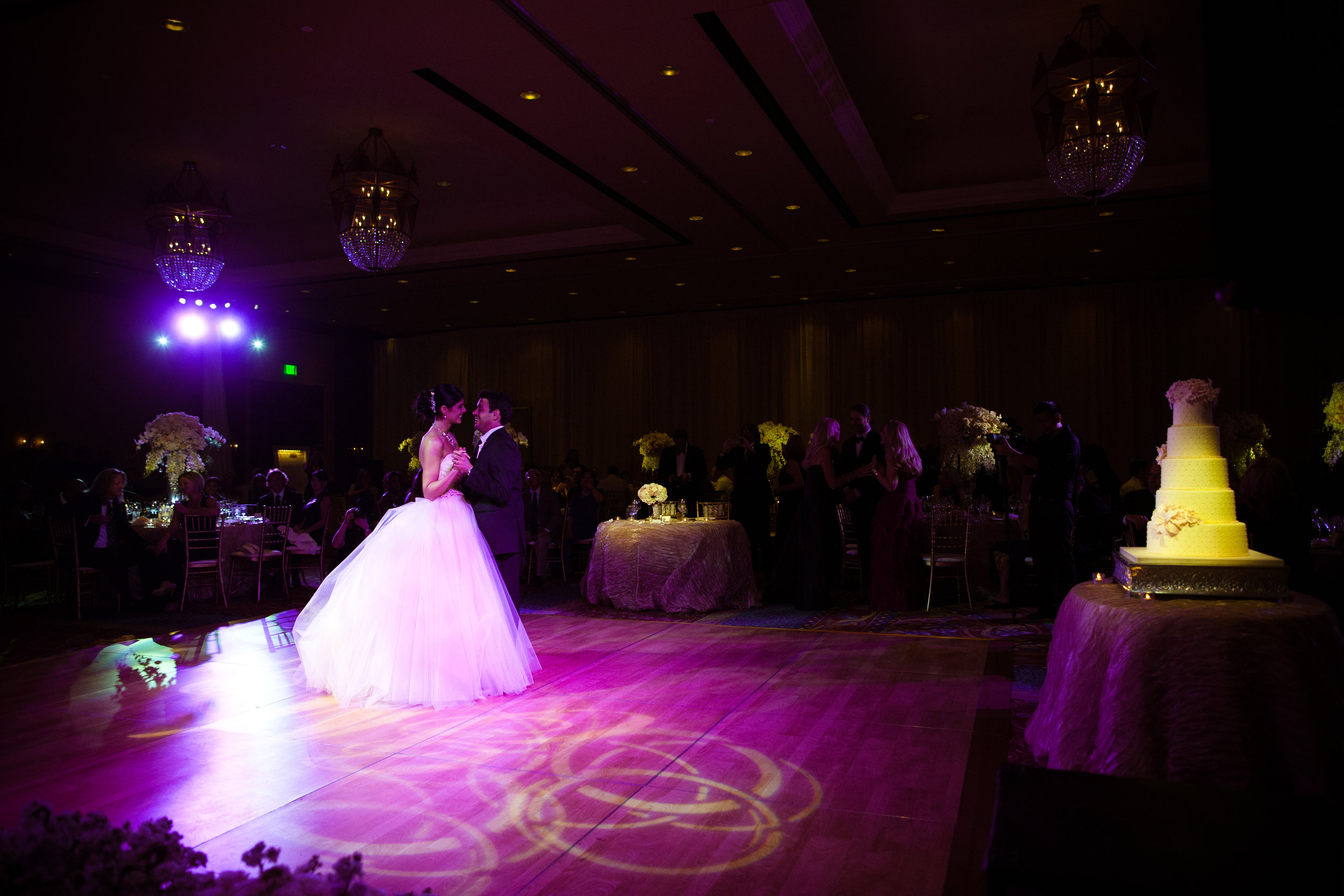 38 bride and groom first dance bride and groom on dance floor special moment with bride and groom Christine Johnson Photography Life design events .jpg