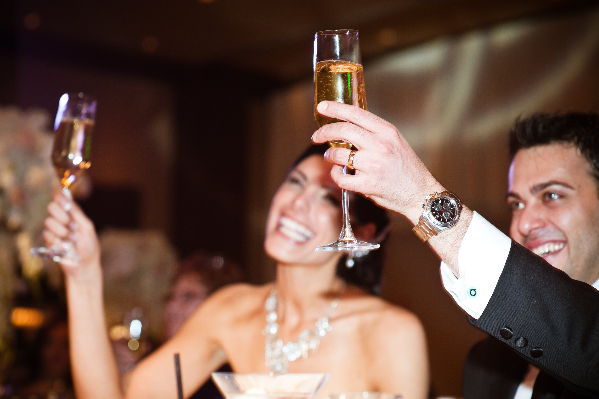 42 bride and groom toasting cheers to the bride and groom bride and groom candid photos Christine Johnson Photography Life Design Events.jpg