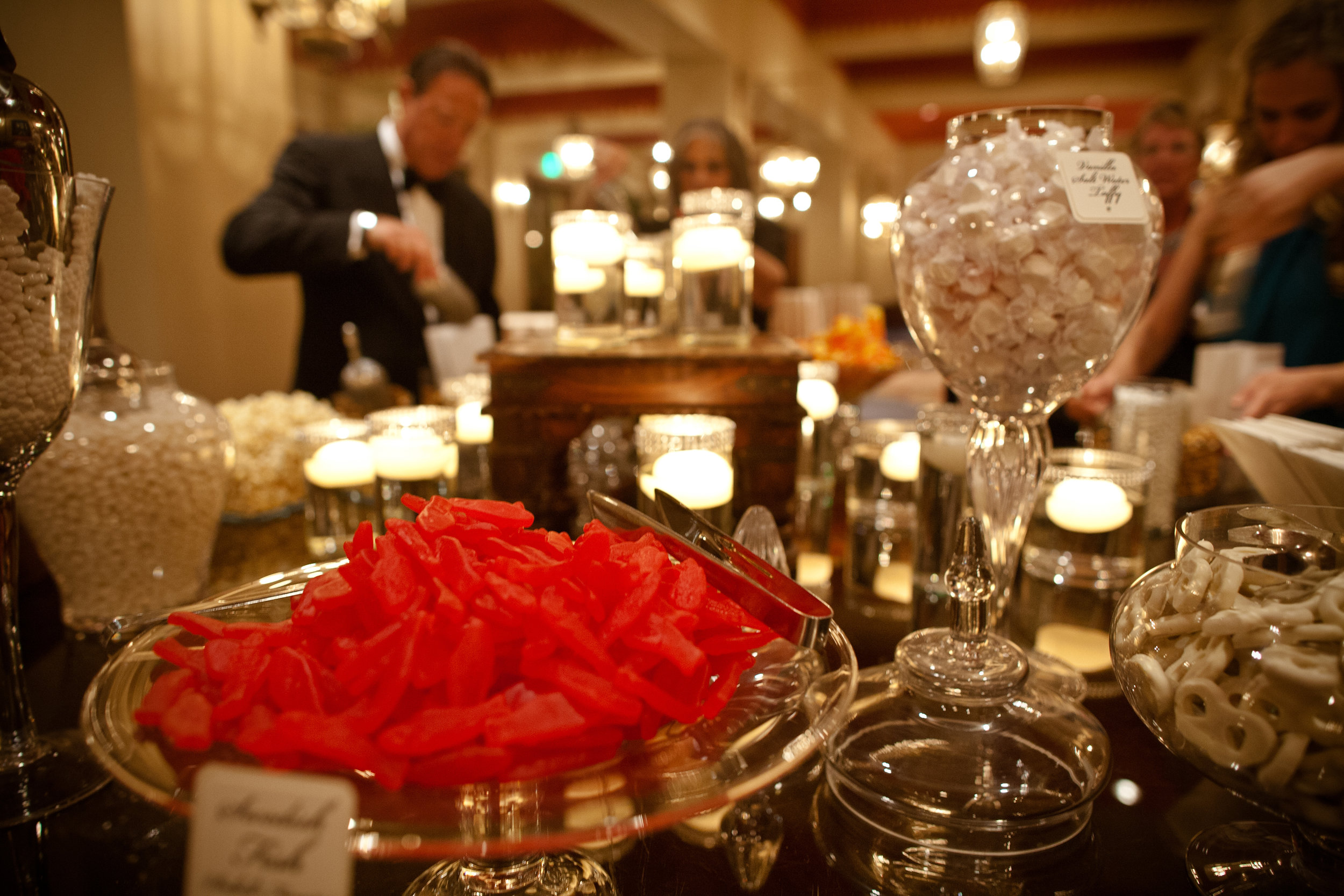 46 candy bar at wedding serve yourself candy bar candy for dessert Christine Johnson Photography Life Design Events.jpg