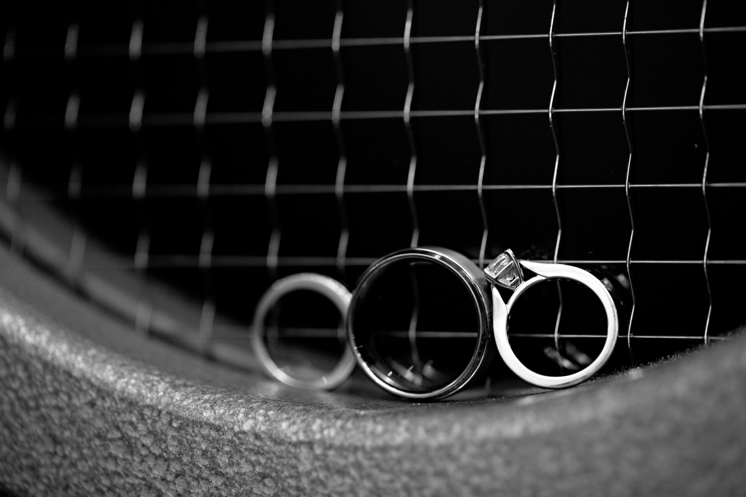3 bride and groom rings bride and groom ring poses black and white wedding photos O Grace Photography Life Design Events .jpg