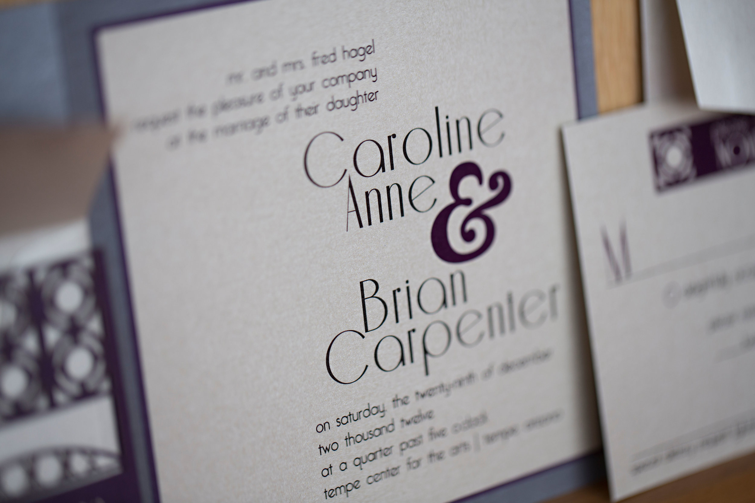 6 wedding invites simple wedding invites elegant wedding invites O Grace Photography Life Design Events.jpg