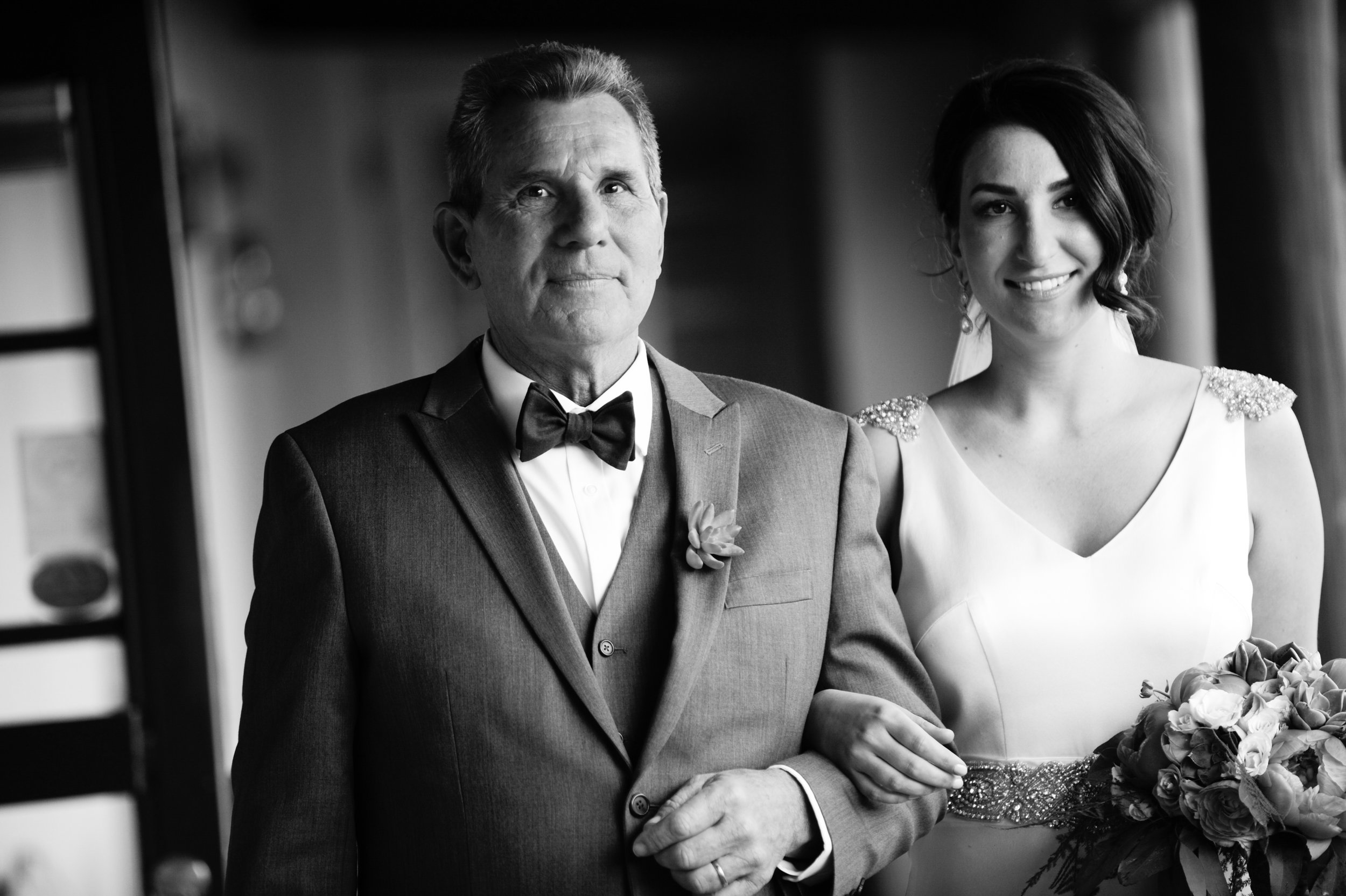 14 Bride and father bride and father walking down the aisle Mod Wed Photography Life Design Events.jpg