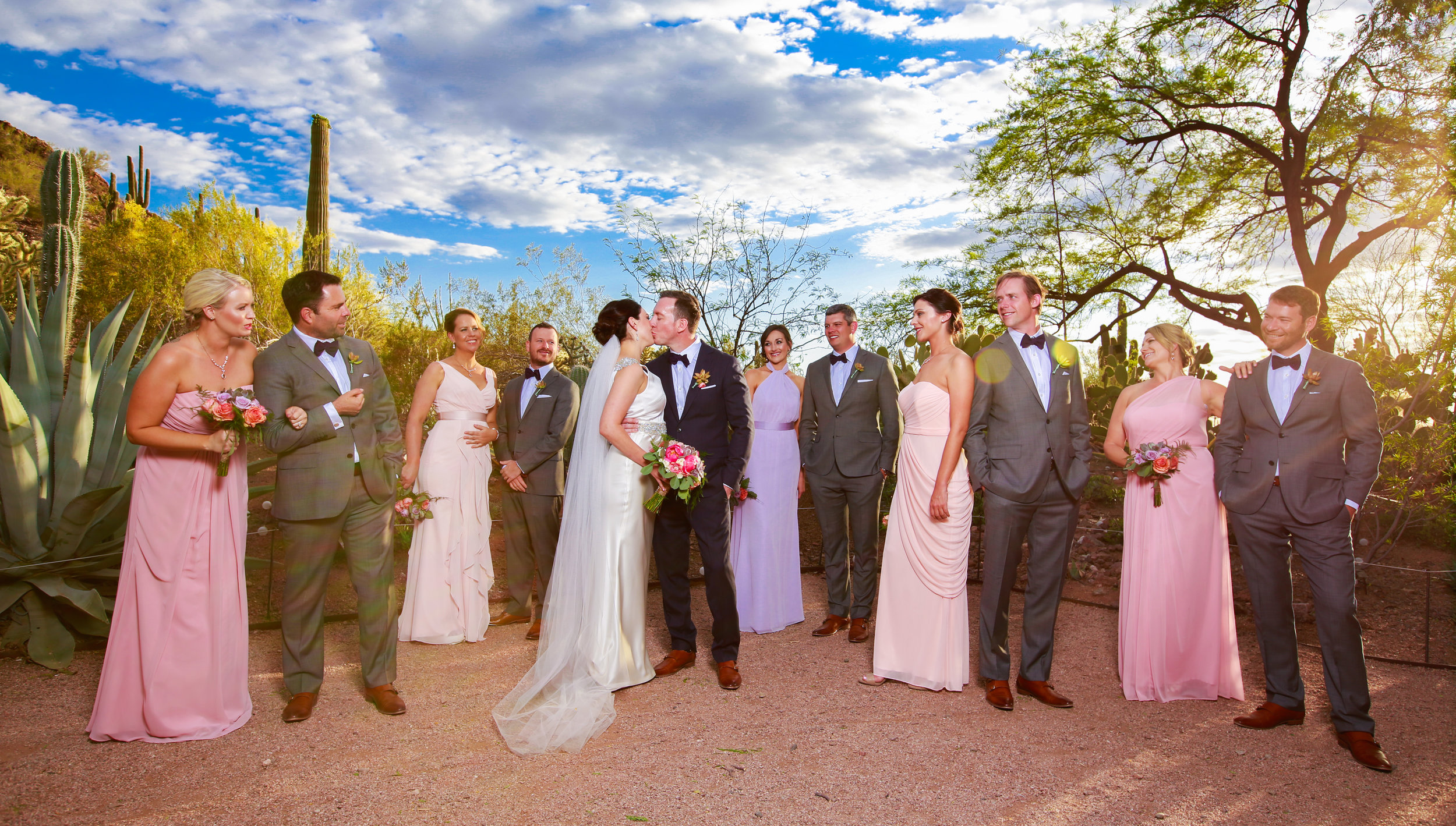 21 bridal party photos bridal party poses sunset bridal party photos Mod Wed Photography Life Design Events.jpg